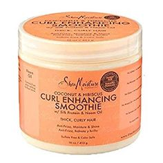 Shea Moisture Coconut & Hibiscus Curl Enhancing Smoothie Family Size-470ml: Amazon.co.uk: Beauty