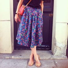 Midi skirt - Opale from Grains de Couture
