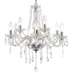 Shop the Forum Grace 9 light chandelier ceiling fitting. Features a striking contemporary design. Now available at Victorian Plumbing.