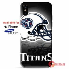 a03e4b231 Tn Titans helmet stripes iPhone X Cases