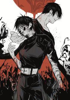 "anzhi on Twitter: ""天与咒缚… "" Fanarts Anime, Anime Characters, Manga Anime, Anime Art, Anime Meme, Anime Guys, Animation, Blade Runner, Animes Wallpapers"