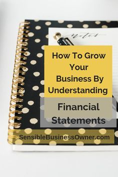 What Every Entrepreneur Should Know About Financial Statements - The Sensible Business Owner Small Business Bookkeeping, Bookkeeping And Accounting, Small Business Accounting, Accounting And Finance, Business Sales, Cash Flow Statement, Profit And Loss Statement, Financial Statement, Lawn Care Business Cards