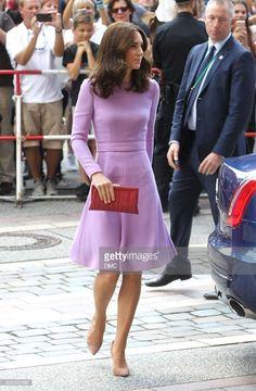 News Photo : Catherine, Duchess of Cambridge is seen arriving...