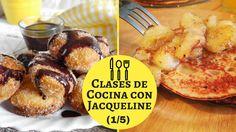 "Buñuelos Rellenos De Chocolate Y Guineitos Con Sirop De Piña (1/5) "" Clases De Cocina Con Jacqueline"