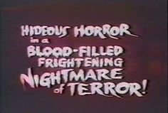 Hideous Horror