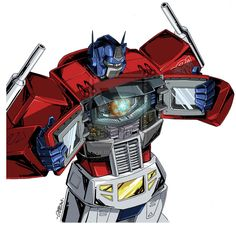 Optimus Prime - The Matrix