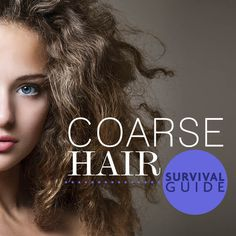 Coarse, Curly Hair Survival Guide | Style.com/Arabia