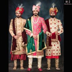 There are many wedding dress designs that are available in the market. We provide you an ultimate list of vendors for the Indian wedding groom dresses which are best in the city. Marriage Dress For Groom, Groom Wedding Dress, Groom Dress, Wedding Wear, Boys Kurta, Indian Groom Wear, Wedding Sherwani, Designer Wedding Dresses, Wedding Designs