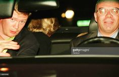 A photo taken by Jacques Langevin on the night of August 31, 1997 shows Diana Princess of Wales (head turned away in backseat), her bodyguard Trevor Rees-Jones (L) and driver Henri Paul shortly before the fatal crash which killed Diana, her companion and Henri Paul. The photo was presented as part of the evidence at the Scott Baker Inquest into the crash, in which the jury found that Diana and Dodi had been unlawfully killed because their driver, Henri Paul and the pursuing paparazzi were…
