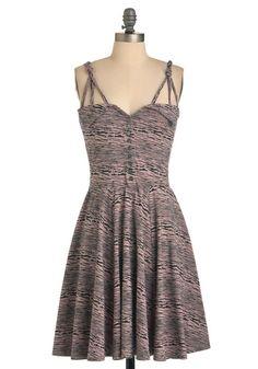 You Crackle Me Up Dress. Love the shape!