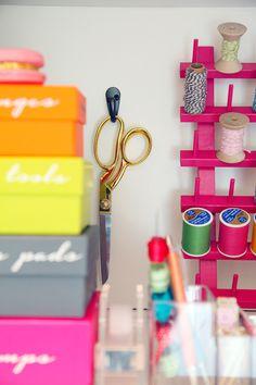 68 DIY Gift Wrap Organization Station