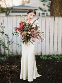 wonderful fall bouquet | florals by Ponderosa & Thyme, photo by Ivy & Gold