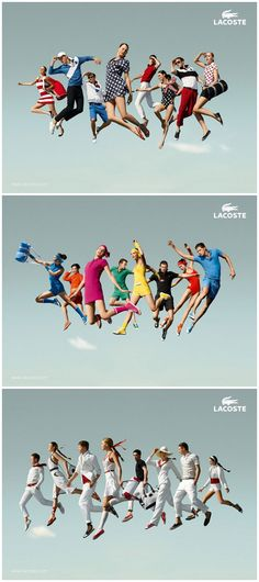 Lacoste advertising campaign