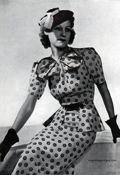 Fashion 1937 : Studio Anzon