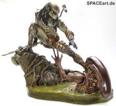 Alien vs. Predator: Confrontation of Death Diorama, Modell-Bausatz ... http://spaceart.de/produkte/avp014.php
