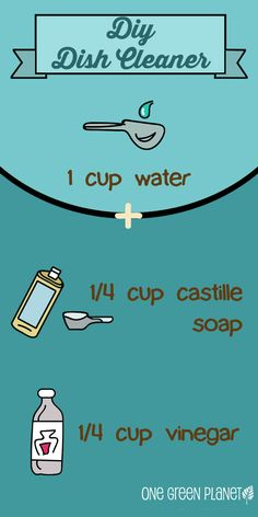 DIY Dish Cleaner #livegreen