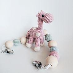 Crochet stroller toy by Katiu