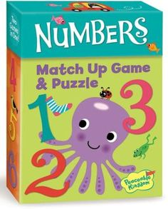 Numbers Match Up Game + Puzzle