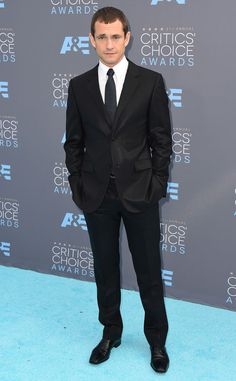 Hugh Dancy from 2016 Critics' Choice Awards Red Carpet Arrivals  The Hannibal star looks handsome in a signature suit and tie look.
