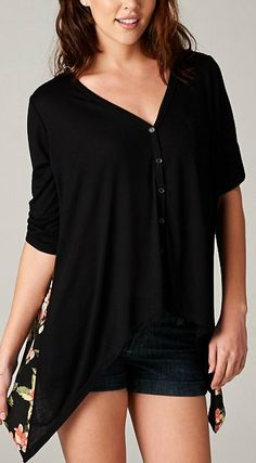 Relaxed Becca Top