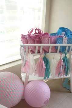 #favours Vintage Doll Birthday Party