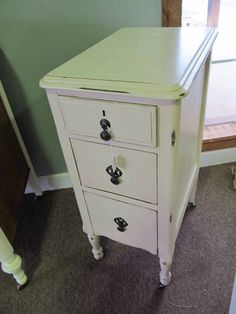 narrow nightstands but lots of storage in some other non