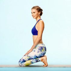 Post-Run Stretches: Broken-Toe Pose