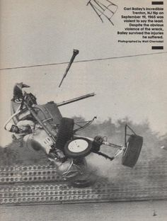 Vintage Sprint Car Crashes | Location: Ponte Vedra Beach, FL