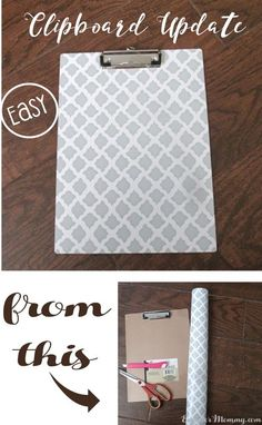 Looking for a way to spruce up those dollar store clipboards? You will not believe how easy and fun this technique is! Looking for a way to spruce up those dollar store clipboards? You will not believe how easy and fun this technique is! Dollar Store Hacks, Dollar Store Crafts, Dollar Stores, Dollar Dollar, Clipboard Crafts, Teacher Clipboard, Hostess Cupcakes, Colegio Ideas, Dyi