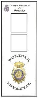 Mi grimorio escolar: NOS VISITA UN POLICÍA NACIONAL