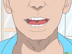 3 Ways to Relax Jaw Muscles Before Bed - wikiHow Jaw Exercises Tmj, Deep Breathing Exercises, Jaw Massage, Jaw Clenching, Shoulder Stretches, Jaw Pain, Muscles In Your Body, Ways To Relax, How To Relieve Stress