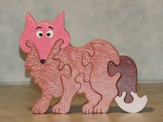 Animal Puzzle, Wooden Puzzles, Scroll Saw, Wood Ideas, Frame, Articles, Animals, Home Decor, Wooden Toy Plans