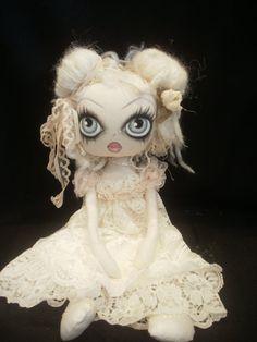 Celine, Cloth Art Rag Ghost Doll