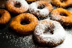 Similar to donut but with cream cheese. Baking Ideas, Doughnut, Donuts, Goodies, Tasty, Polish, Cheese, Traditional, Cream
