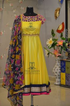 TS-DS-309AvailableFor queries/ price detailsWhats App us on8341382382 Reach us on8790382382 orplease mail us attejasarees@yahoo.com www.tejasarees.com tejasarees  LikeNeverBefore  hyderabad  designerwear  dresses  tejupavuluri  Stay Amazed!!!Team Teja!