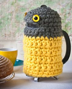 A coffee owl! A great way to keep your plunger hot.