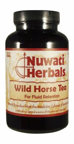 Nuwati Herbals Wild Horse Tea, 4 Ounces: Natural Herbal Diuretic. Fighting bloat? This all natural tea helps with fluid retention and excess water weight. Flush the toxins out of your body.