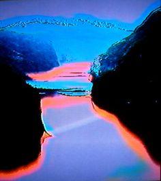 Se Mountain of the Mind 3 Digital grafikk av Marianne Heske. Portrait Art, Portrait Photography, Jan Van Eyck, Viking Art, Glitch Art, Northern Lights, Contemporary Art, Mindfulness, Waves