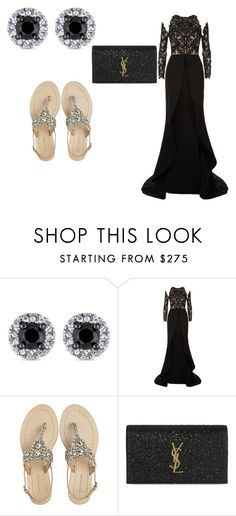 """""""Untitled #80"""" by skrebosa ❤ liked on Polyvore featuring Mikael D, Antik Batik and Yves Saint Laurent"""