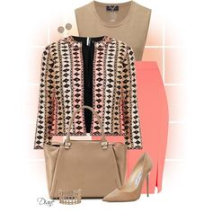 """Patterned Jacket"" by diane-hansen on Polyvore"