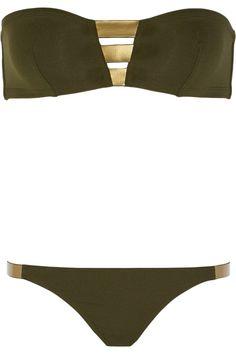 Eres|Alliages Tungstène bandeau bikini|NET-A-PORTER.COM