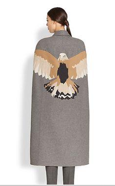 Valentino - Embroidered Eagle Cape 2014. löv löv löv