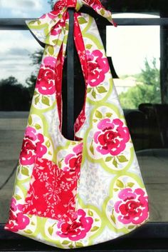Shabby Chic Reversible Boho Sling Bag - Free Sewing Pattern and Tutorial
