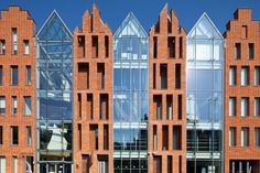 OKM - an architectonic pearl Architectural Materials, Facade Design, Architecture Old, Old Buildings, Krakow, Old Town, Gdansk Poland, Shophouse, Railway Museum