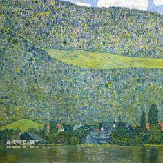 Gustav Klimt - Unterach at the Attersee