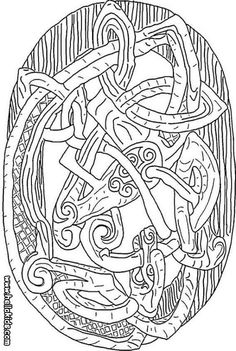 161 Best Norse Colouring Pages Images On Pinterest Norse Mythology