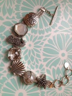 The PERFECT summer/beach bracelet from collector @Julie Mills Gagliardi -Lori Bonn Design -Bonn Bons