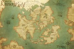 Finally a proper map for the known bitaur world! Please full view for the best look. This is Demas. (Dem-oss) There are three known, named continents. All with their own kingdoms.  And one maj...