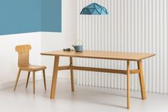 LUPO drewniany stół dębowy styl skandynawski Mebloscenka Table Haute, Dining Bench, Furniture, Design, Home Decor, Classic Interior, Countertop, Home Decoration, Decoration Home