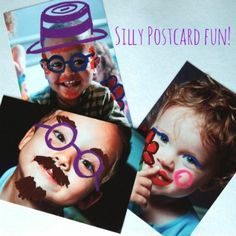 Graffiti Photo Card for {Giggly} Kids